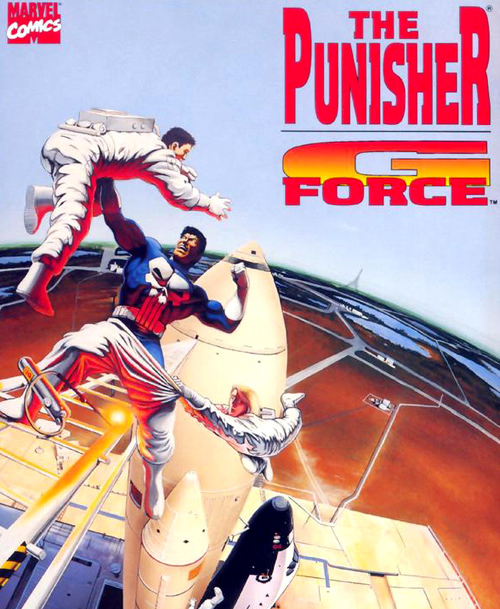 Punisher G-Force cover