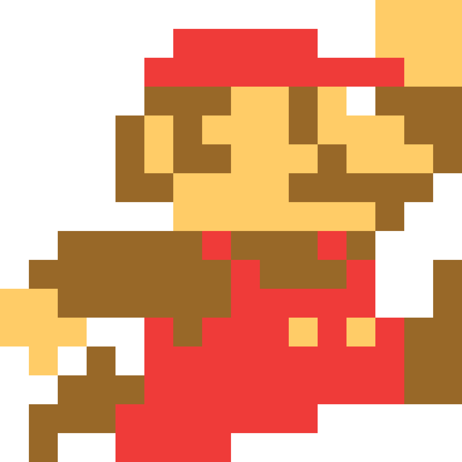 Currently Teaching Myself How To Make 8 bit Characters For An