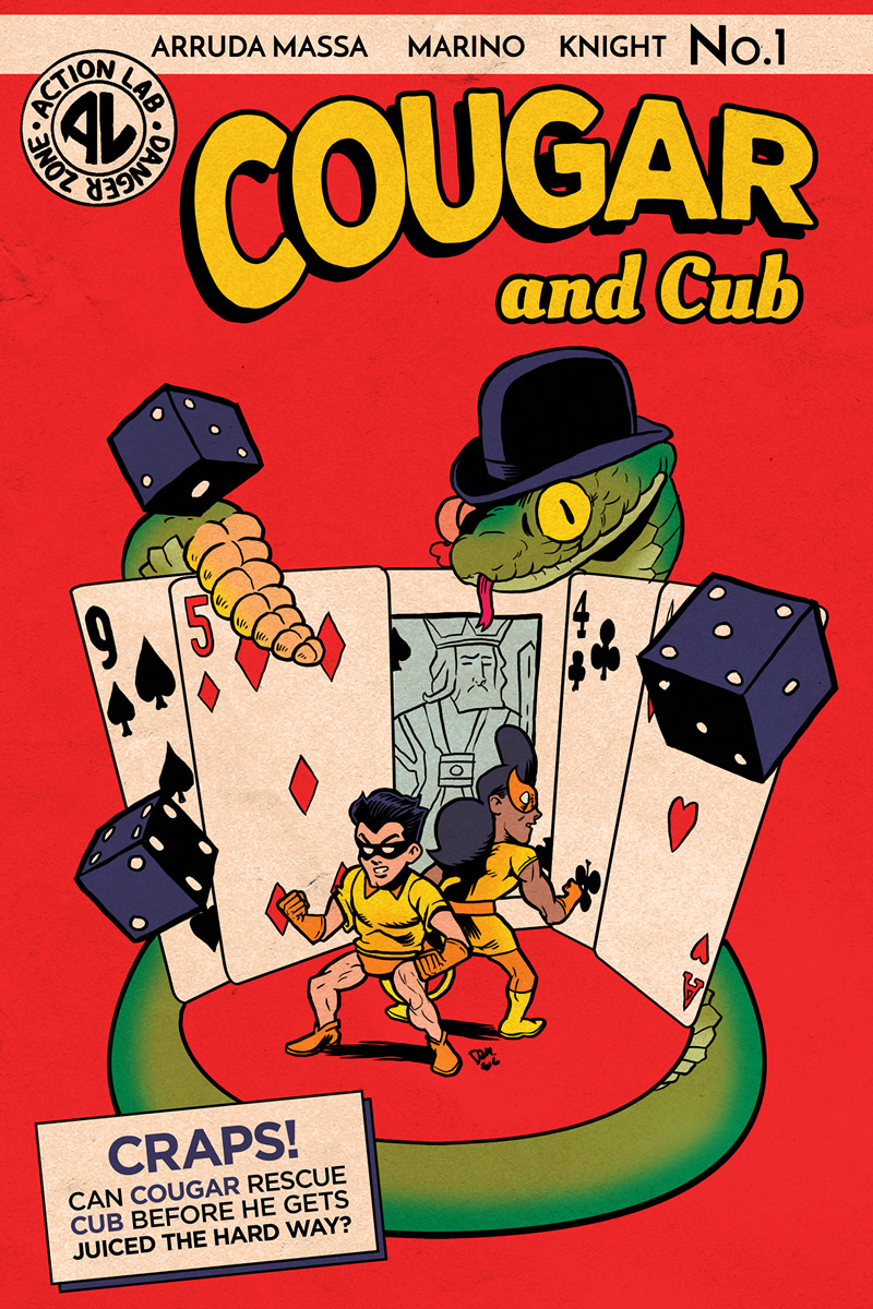 Cougar and Cub #1 cover B