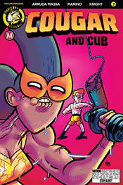 Cougar and Cub #3 cover C