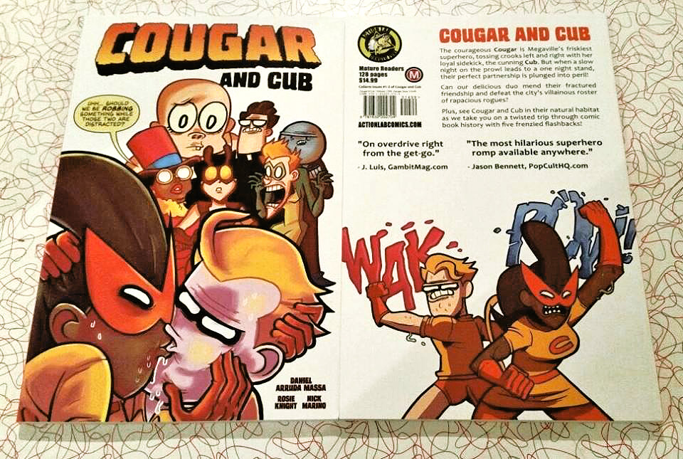 Cougar and Cub TPB