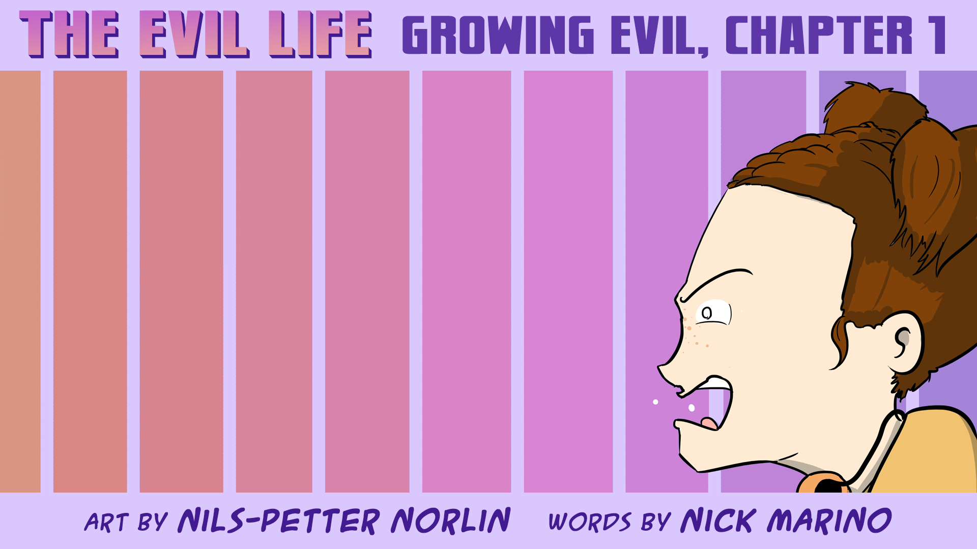 The Evil Life Webcomic, Chapter 1, Cover