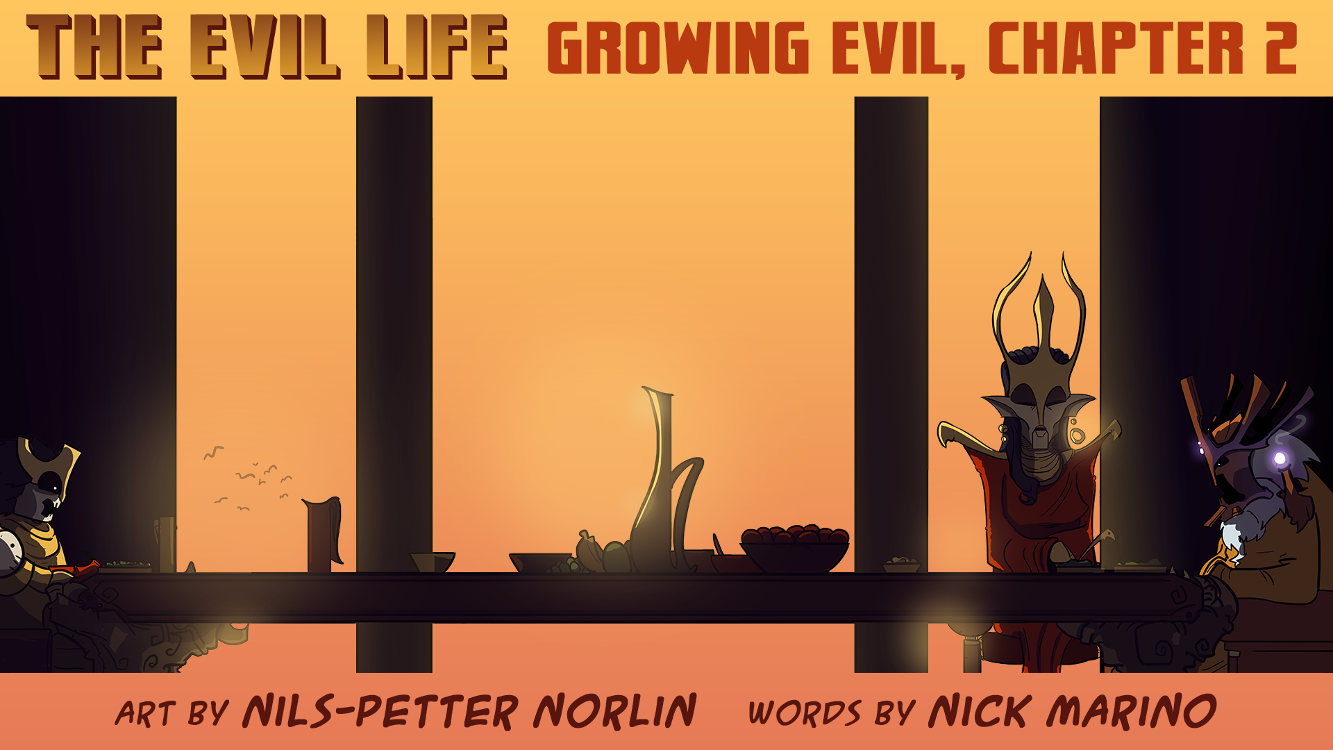 The Evil Life Webcomic, Chapter 2, Cover