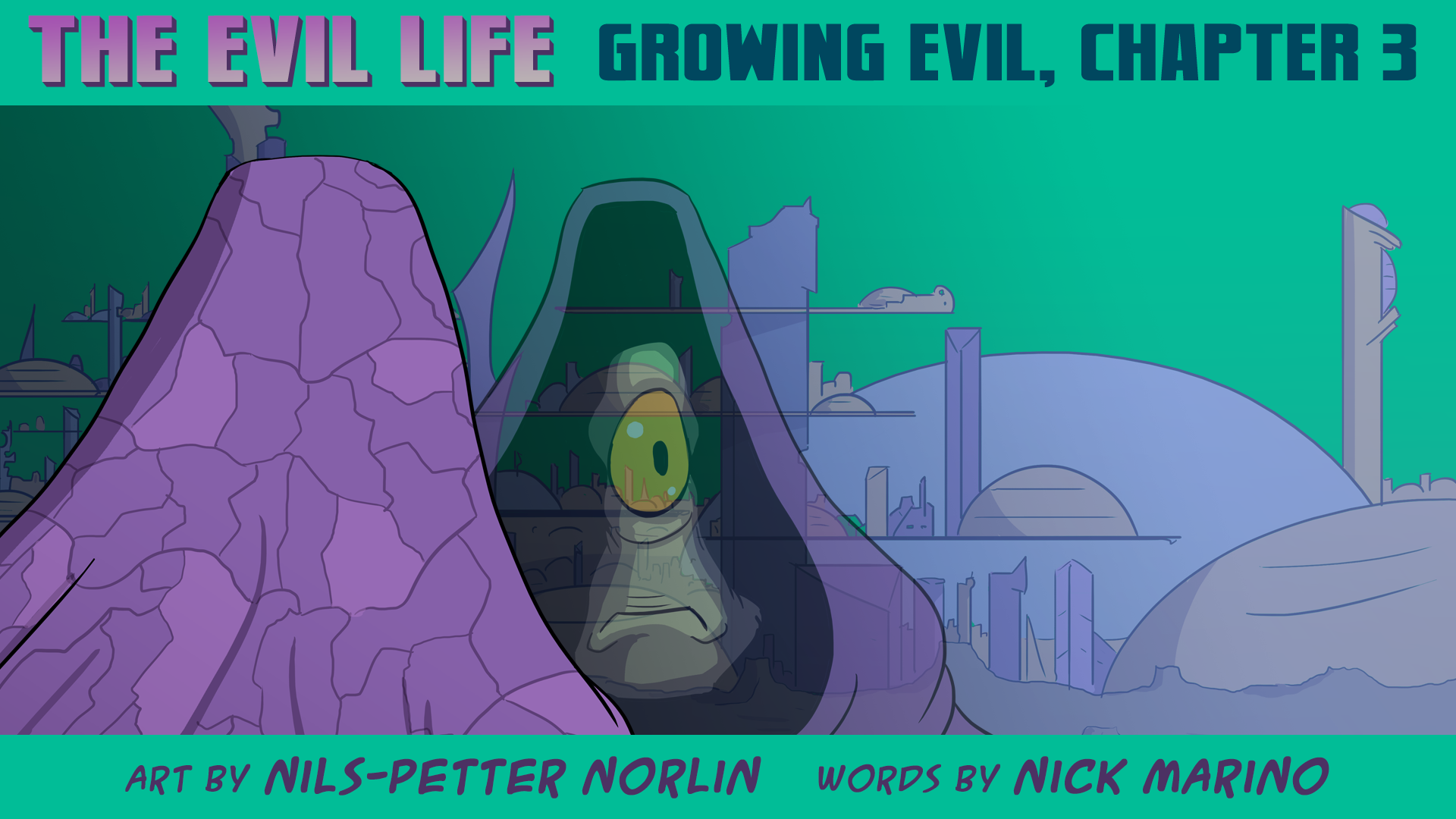 The Evil Life Webcomic, Chapter 3, Cover