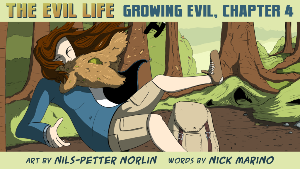 The Evil Life Webcomic, Chapter 4, Cover