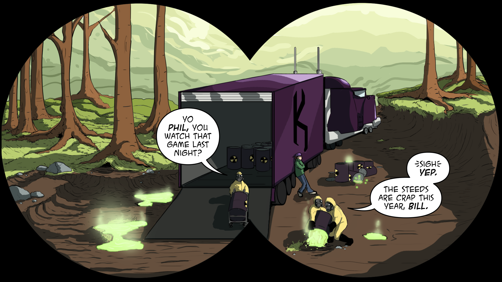 The Evil Life Webcomic, Chapter 3, Page 3