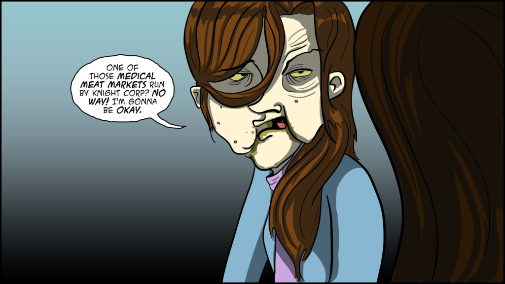 The Evil Life Webcomic, Chapter 3, Page 12