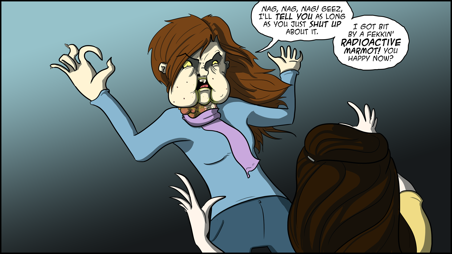 The Evil Life Webcomic, Chapter 4, Page 14