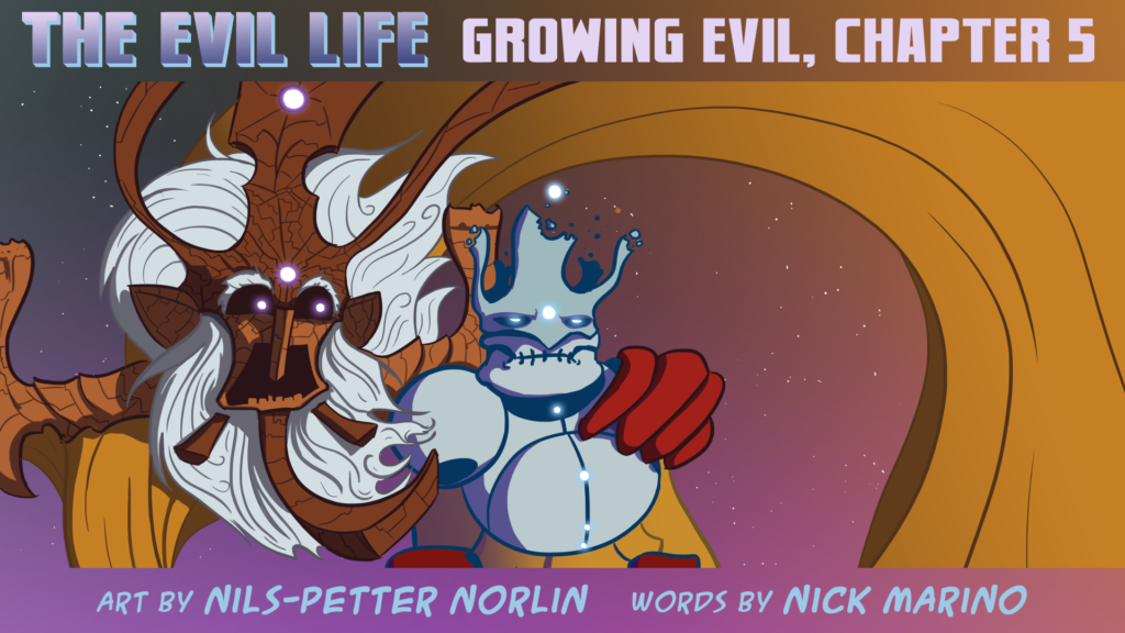 The Evil Life Webcomic, Chapter 5, Cover