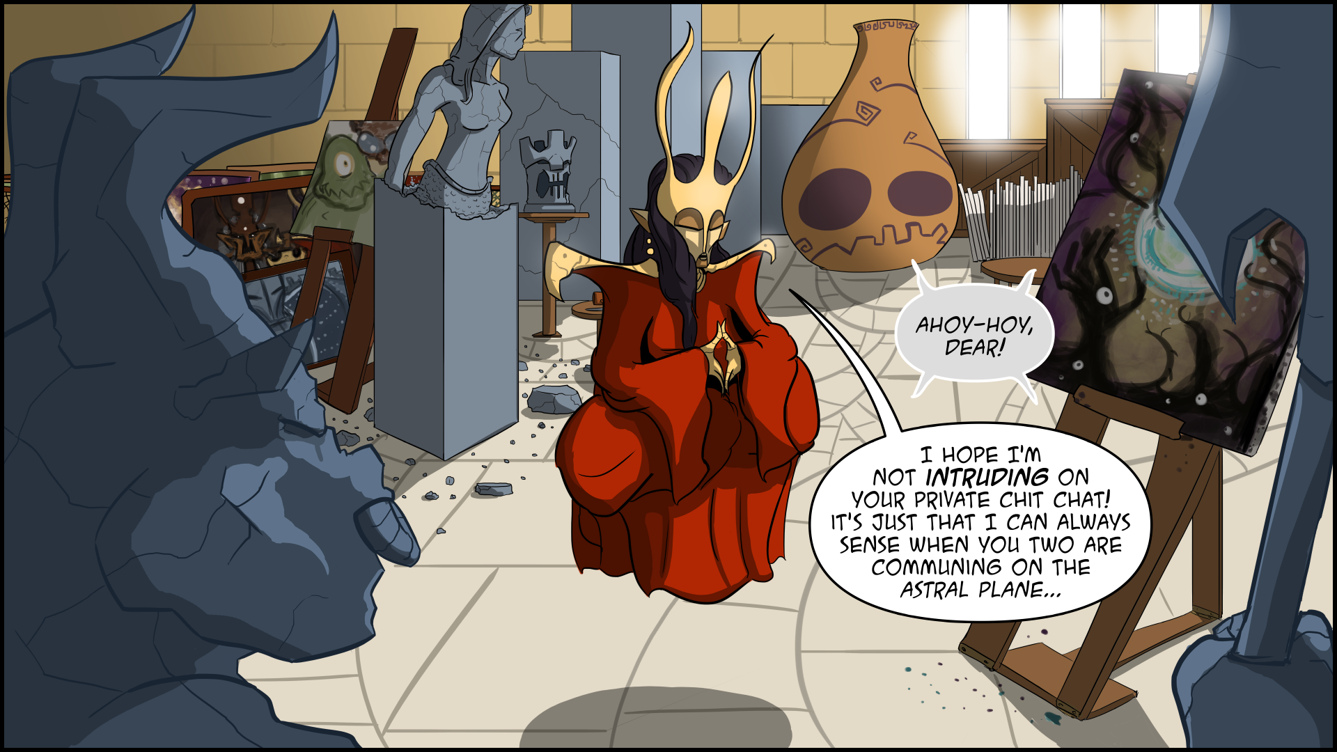 The Evil Life Webcomic, Chapter 5, Page 12