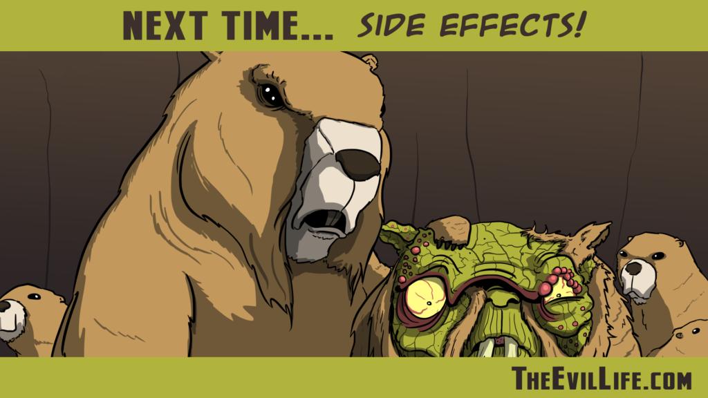 The Evil Life Webcomic, Chapter 6 Teaser