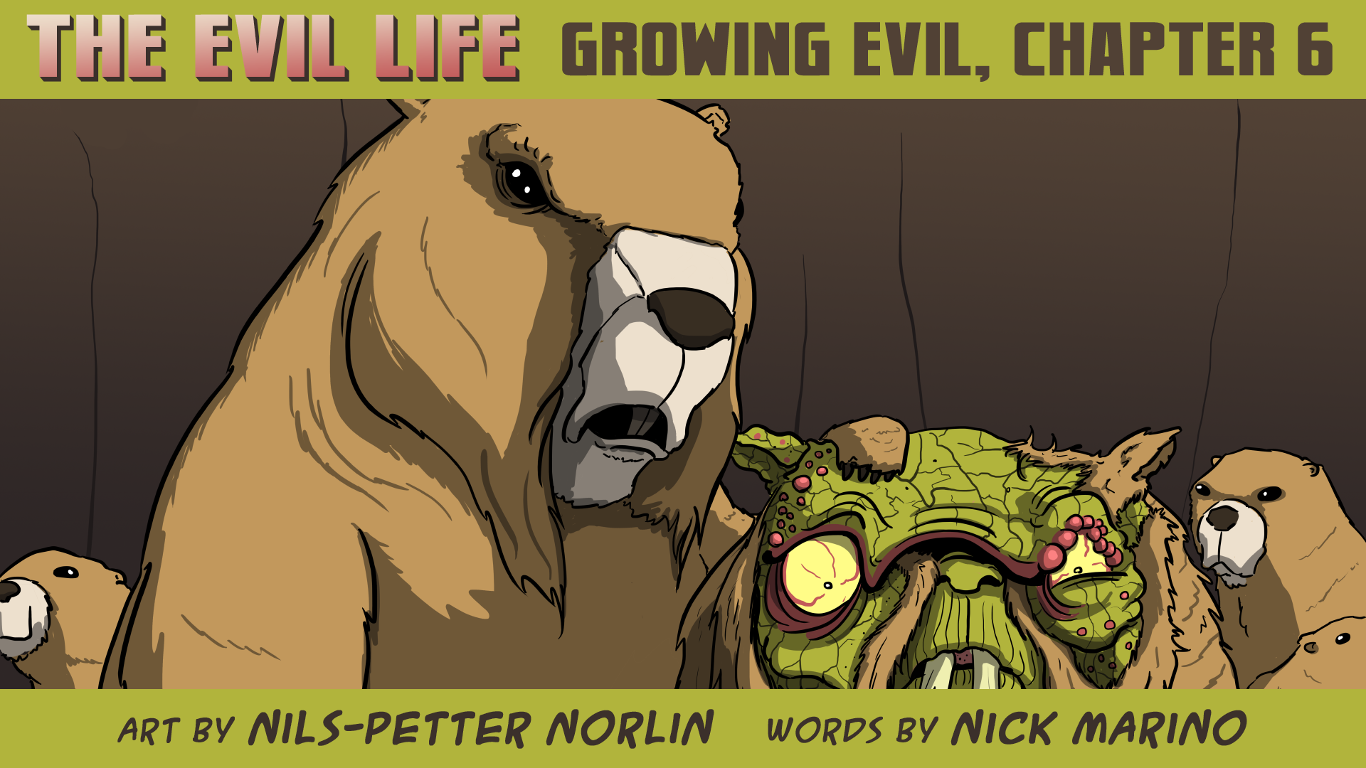 The Evil Life Webcomic, Chapter 6, Cover