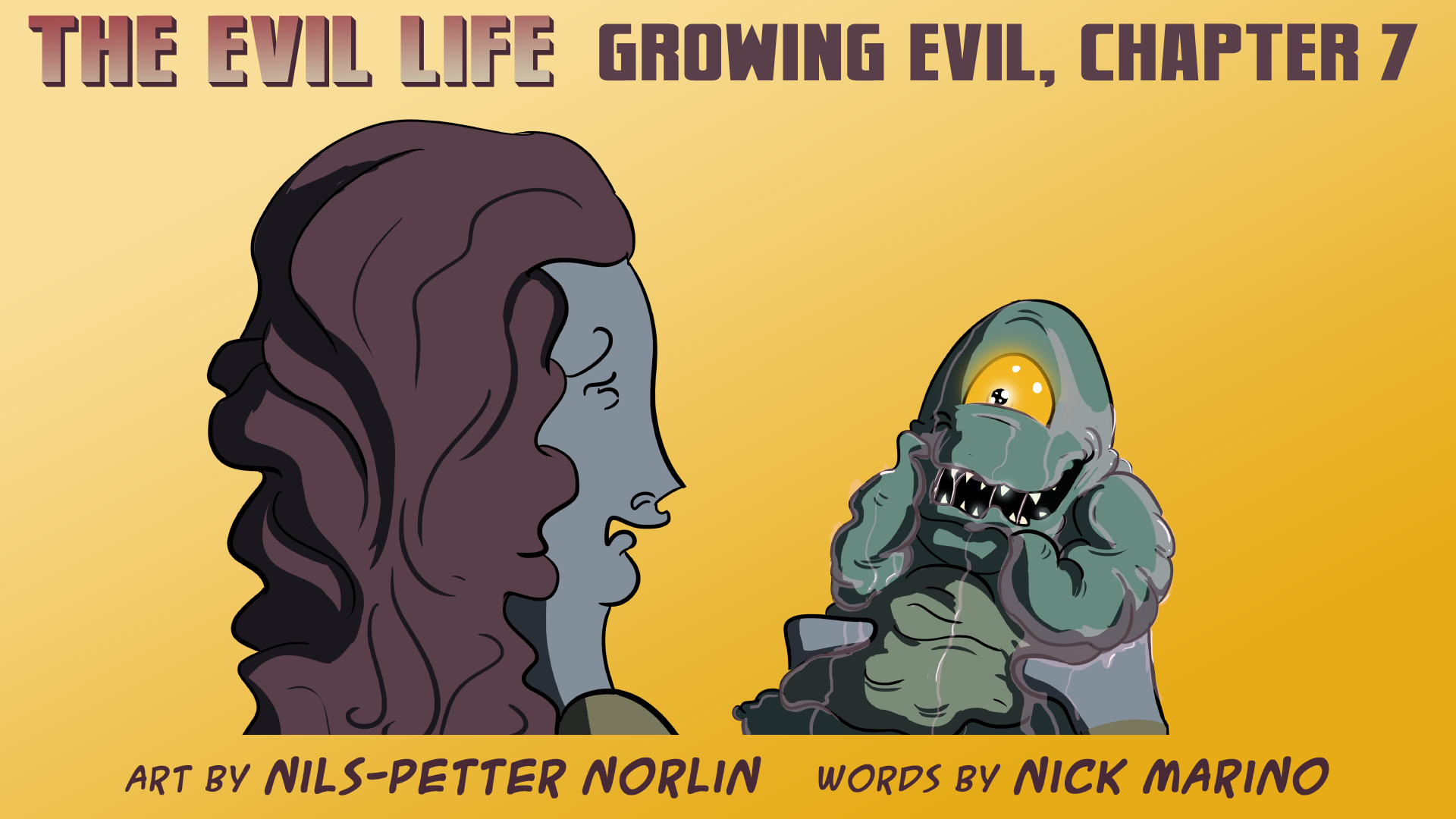 The Evil Life Webcomic, Chapter 7, Cover