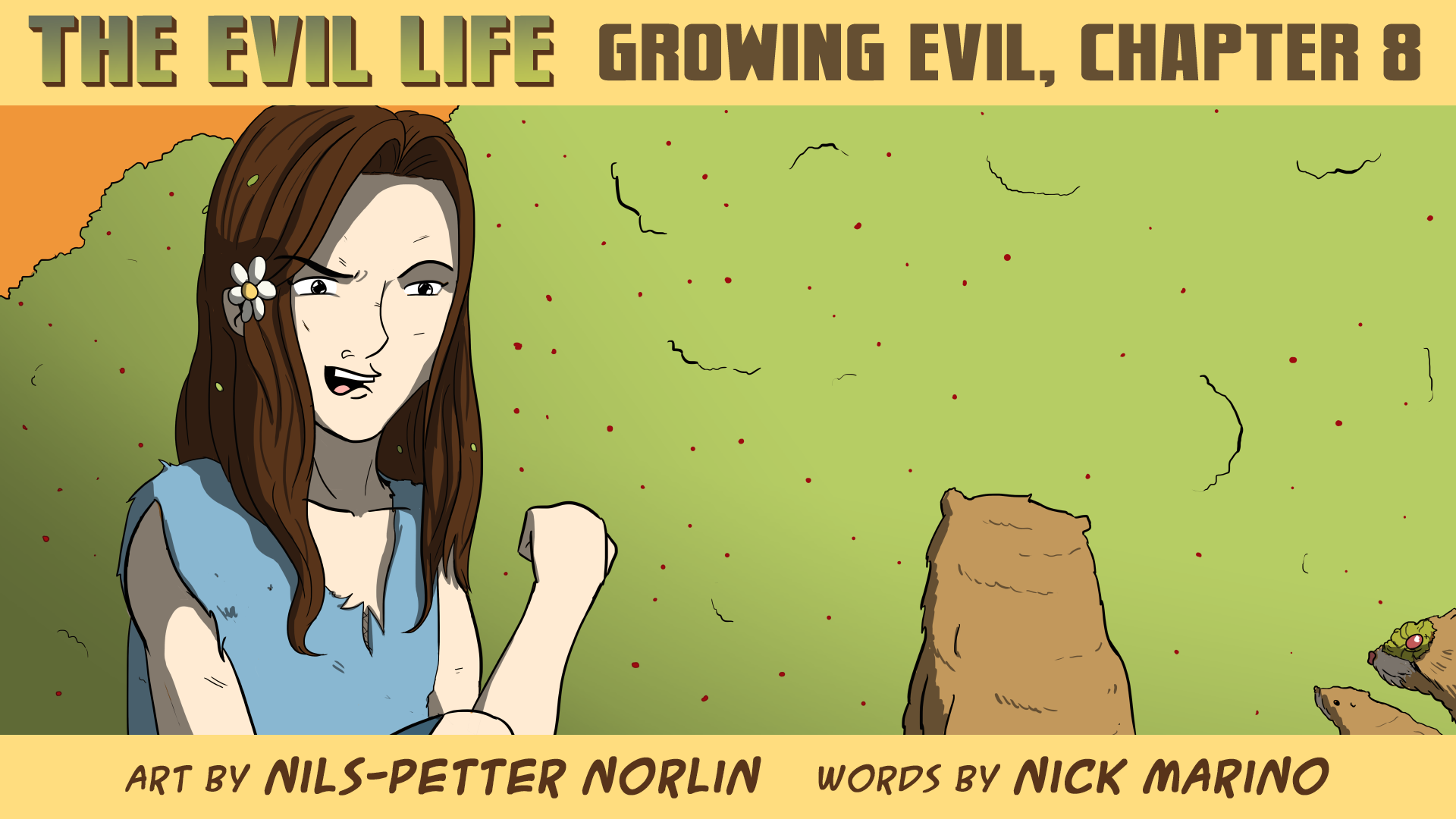 The Evil Life Webcomic, Chapter 8, Cover