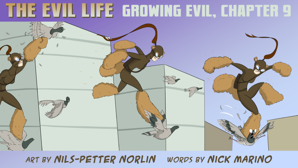 The Evil Life Webcomic, Chapter 9, Cover