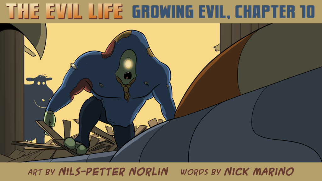 The Evil Life Webcomic, Chapter 10, Cover