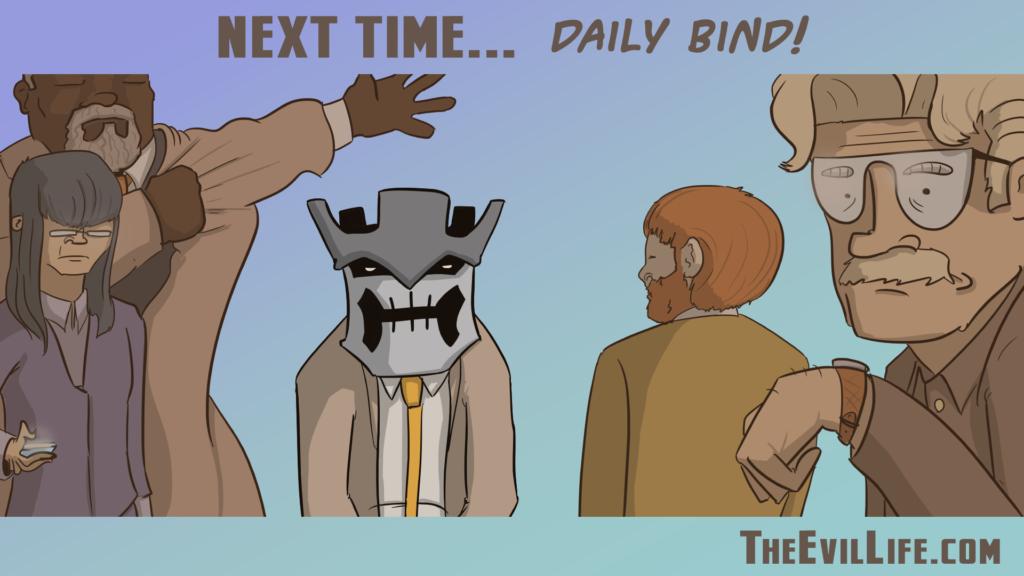 The Evil Life Webcomic, Chapter 12 Teaser