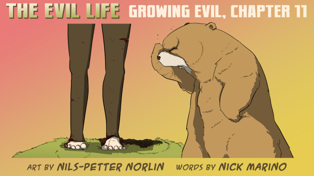 The Evil Life Webcomic, Chapter 11, Cover