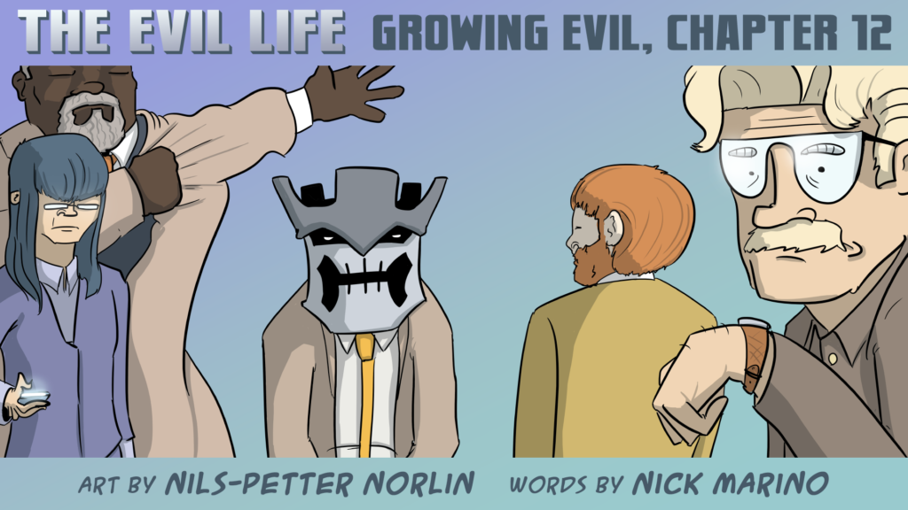 The Evil Life Webcomic, Chapter 12, Cover