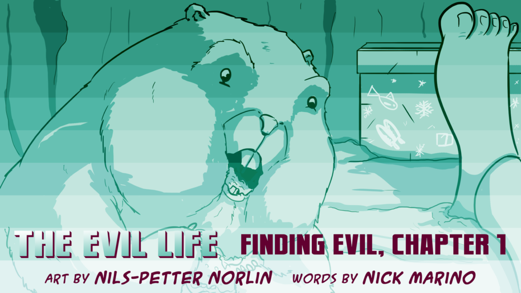 The Evil Life, Finding Evil, Chapter 1, Cover