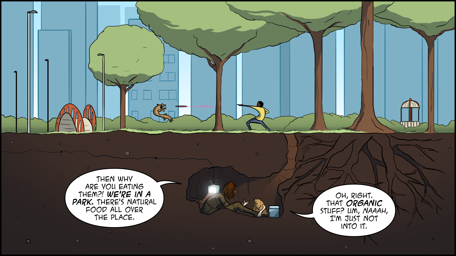 The Evil Life, Finding Evil, Chapter 1, Page 4