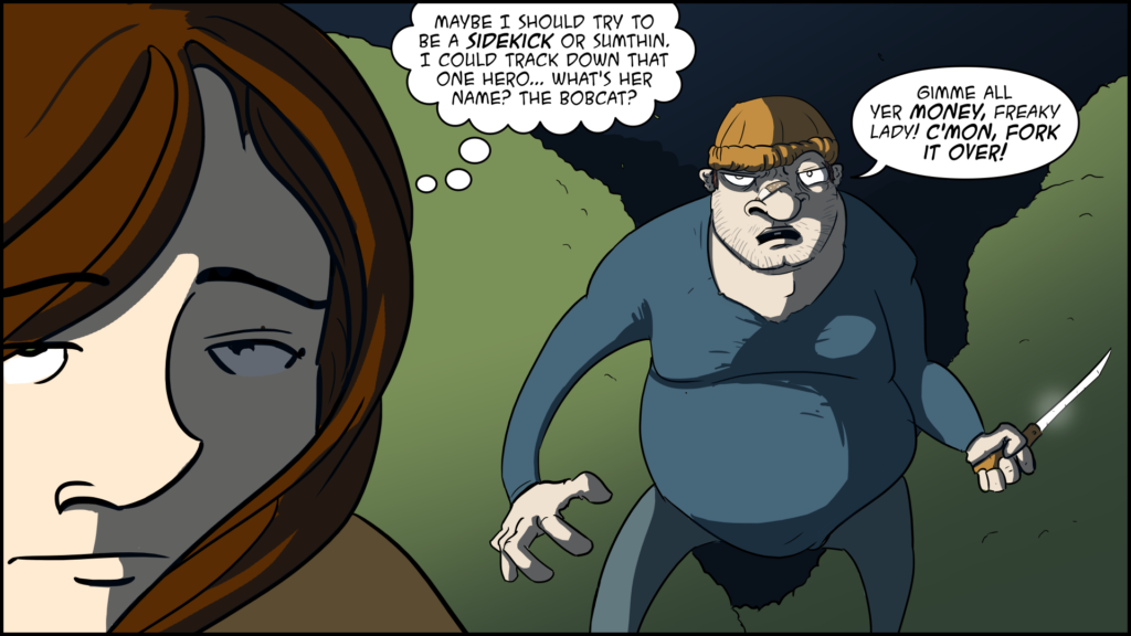 The Evil Life, Finding Evil, Chapter 1, Page 8