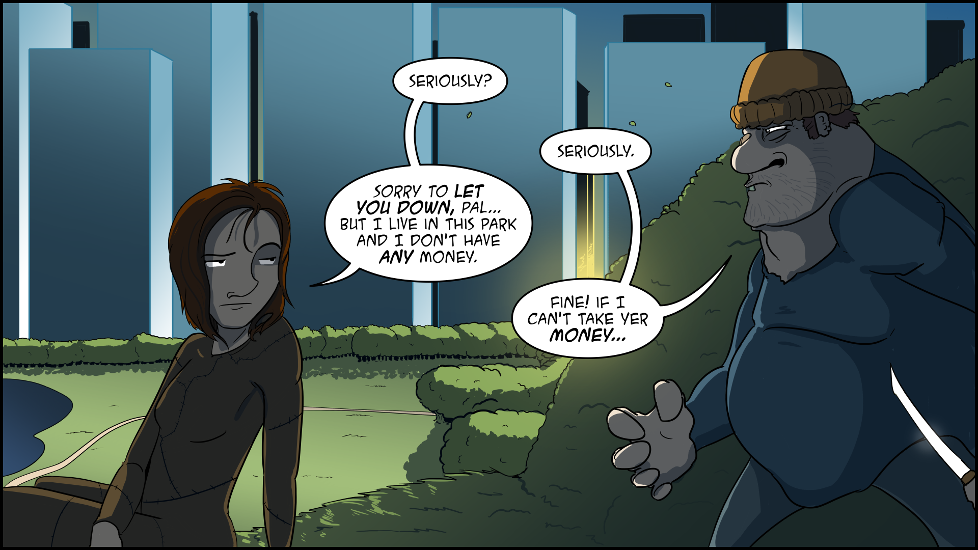 The Evil Life, Finding Evil, Chapter 1, Page 9