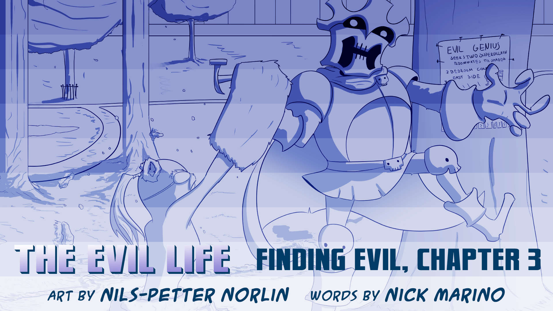 The Evil Life, Finding Evil, Chapter 3, Cover