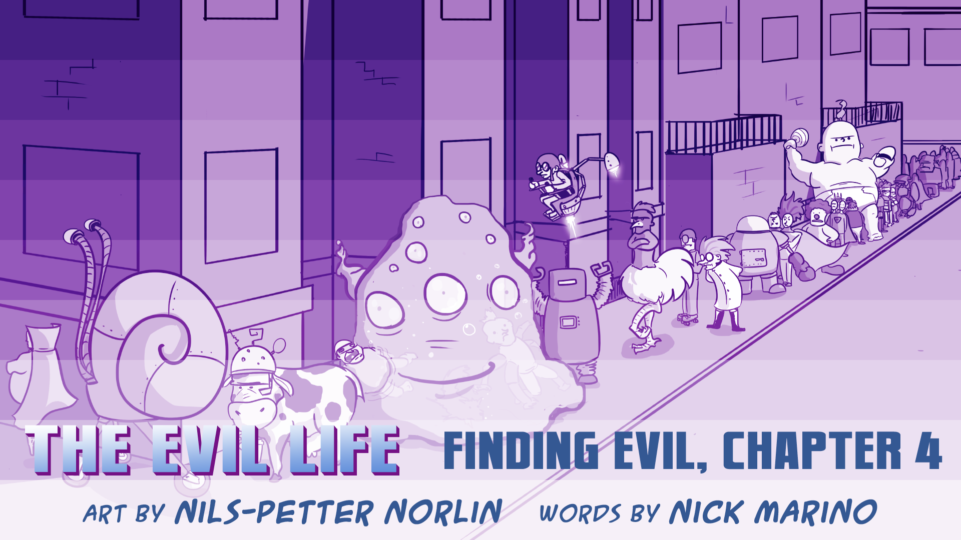 The Evil Life, Finding Evil, Chapter 4, Cover