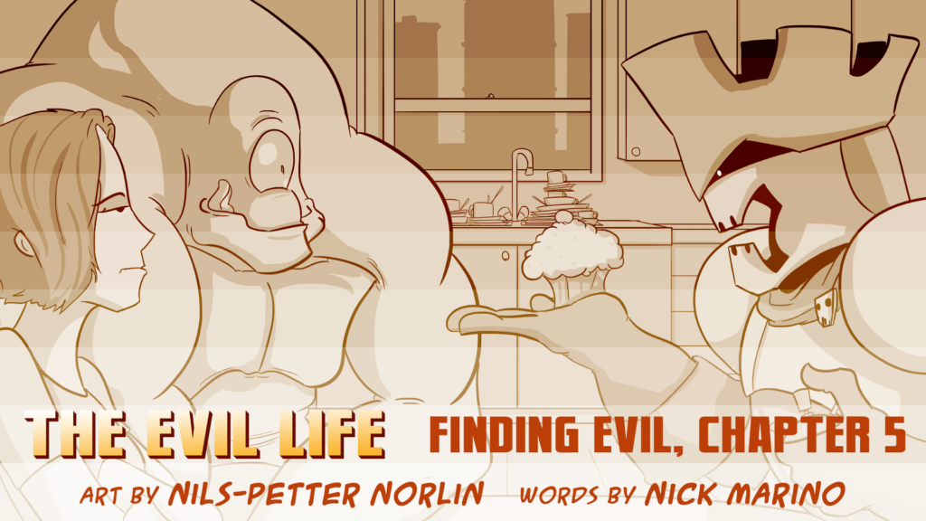 The Evil Life, Finding Evil, Chapter 5, Cover
