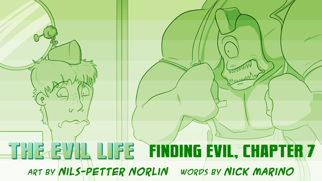 The Evil Life, Finding Evil, Chapter 7, Cover