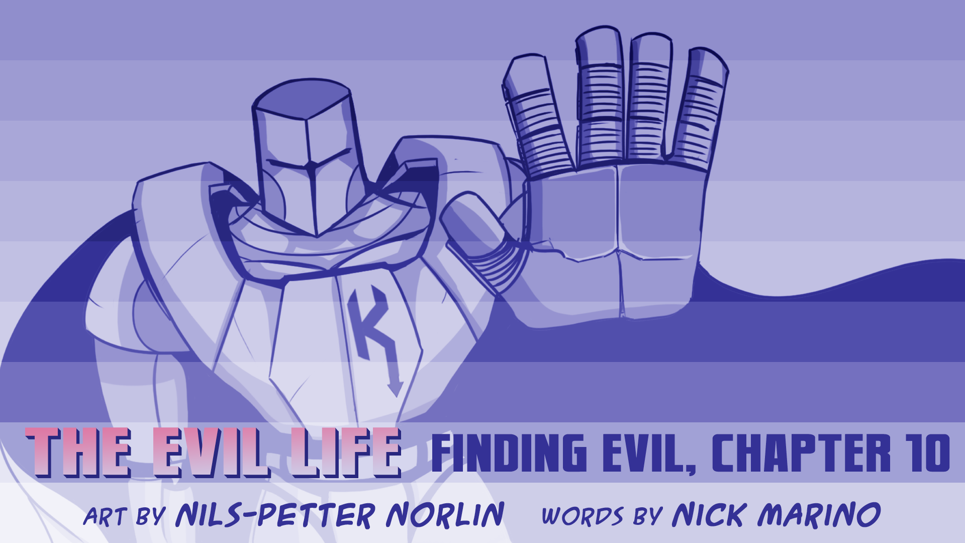 The Evil Life, Finding Evil, Chapter 10, Cover