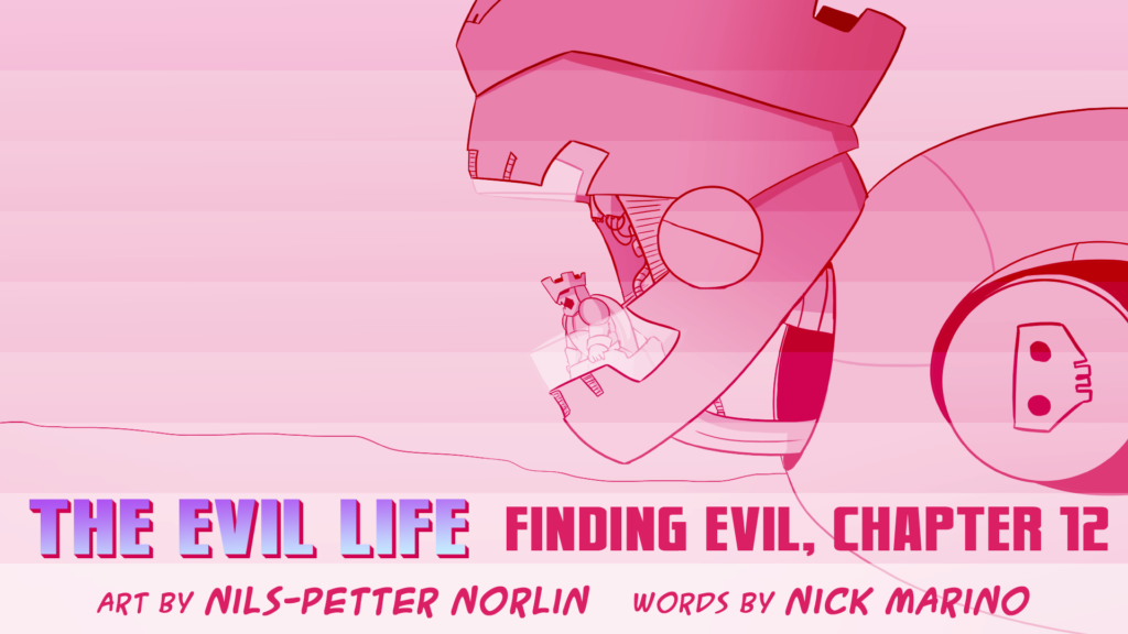 The Evil Life, Finding Evil, Chapter 12, Cover