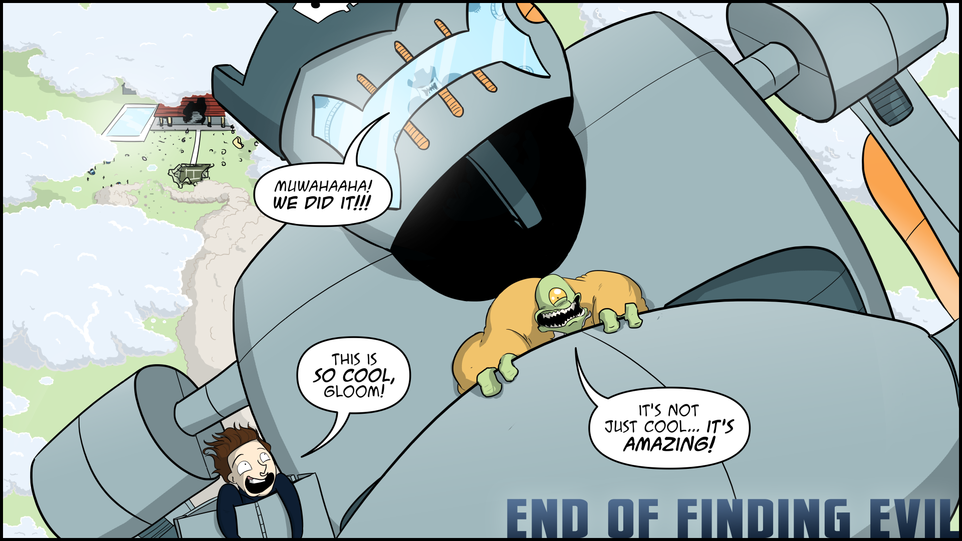 The Evil Life, Finding Evil, Chapter 12, Page 17